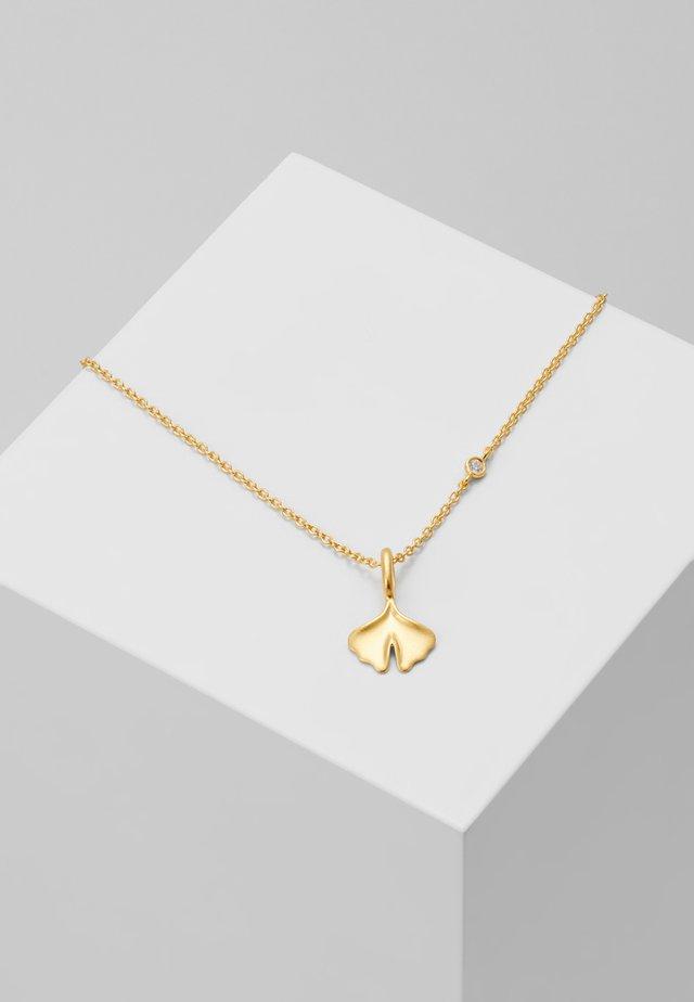 GINKGO NECKL ACE - Collier - gold-coloured
