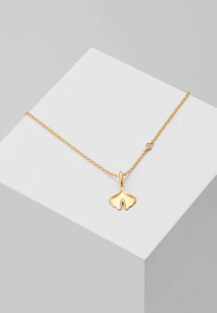 Julie Sandlau - GINKGO NECKL ACE - Necklace - gold-coloured