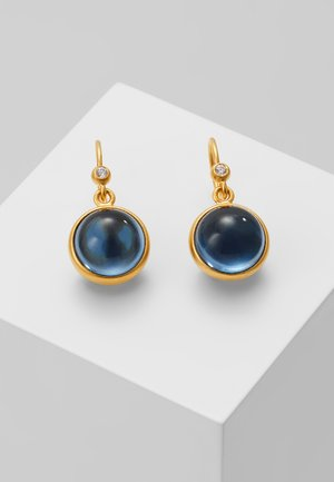 PRIME EARRING - Náušnice - gold-coloured/sapphire blue