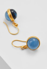 Julie Sandlau - PRIME EARRING - Náušnice - gold-coloured/sapphire blue - 2