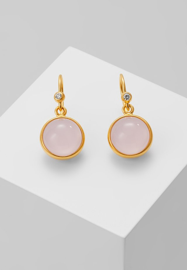PRIME EARRING - Korvakorut - gold-coloured/milky rose