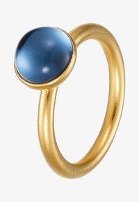 gold-coloured/sapphir