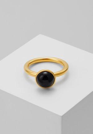 PRIMINI RING - Sormus - gold-coloured/black