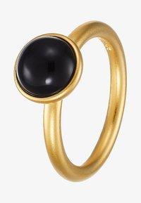 Julie Sandlau - PRIMINI RING - Ring - gold-coloured/black - 4
