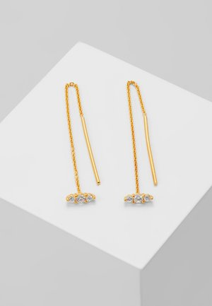 LUCY EARRINGS - Pendientes - gold-coloured
