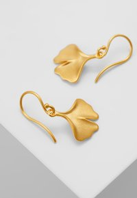 Julie Sandlau - GINKGO EARRINGS - Ohrringe - gold-coloured
