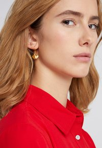Julie Sandlau - GINKGO EARRINGS - Ohrringe - gold-coloured - 1