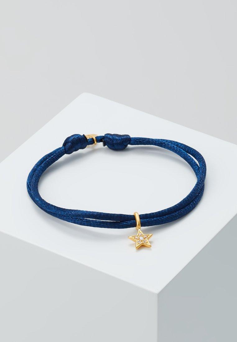 Julie Sandlau - STELLA BRACELET - Armbånd - gold-coloured/dark blue