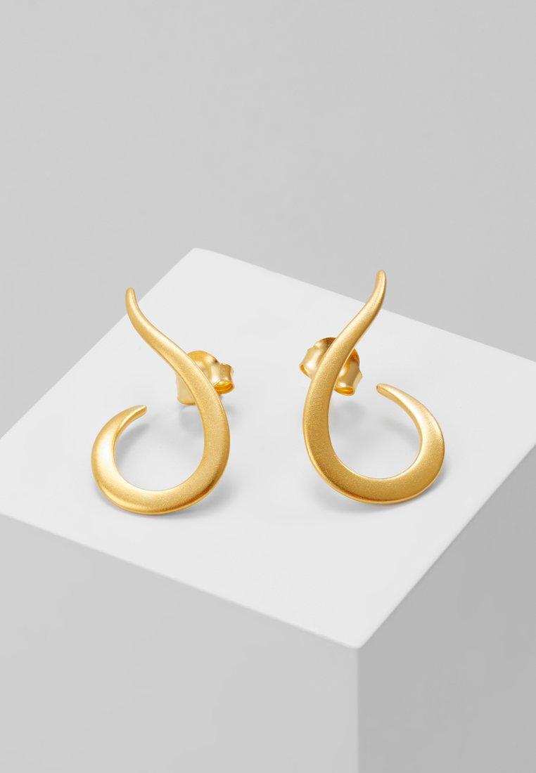 Julie Sandlau - CLASSIC SWAN EARRING - Pendientes - gold-coloured