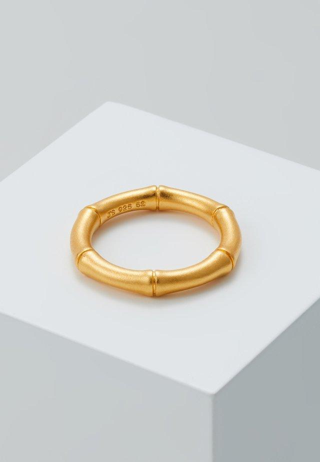 BAMBOO - Ringar - gold-coloured