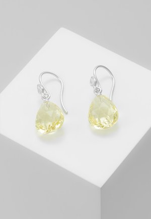 BALLERINA EARRINGS - Korvakorut - lemon/crystal