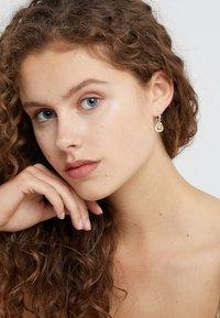 Julie Sandlau - BALLERINA EARRINGS - Orecchini - lemon/crystal - 1