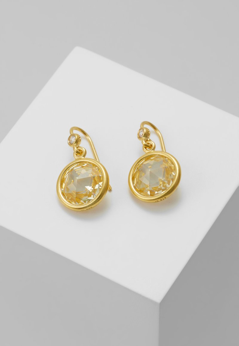 Julie Sandlau - EARRINGS - Earrings - gold-coloured/lemon