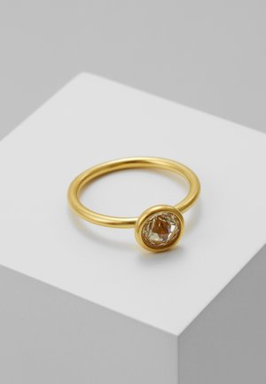 Ring - gold-coloured/lemon