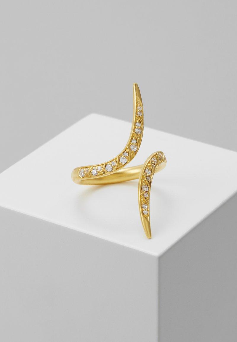 Julie Sandlau - PEACOCK RING  - Ring - gold-coloured