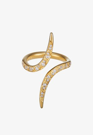 PEACOCK RING  - Sormus - gold-coloured