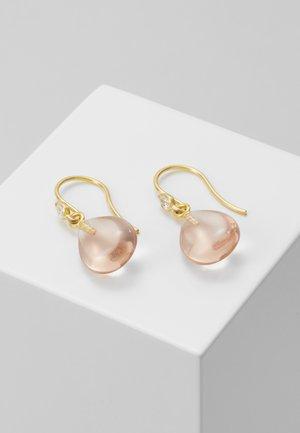 PRIMA BALLERINA EARRINGS - Korvakorut - gold-coloured/blush