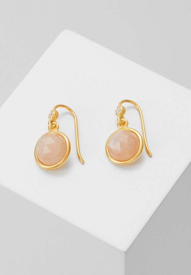MOONEARRINGS - Oorbellen - gold-coloured/grey