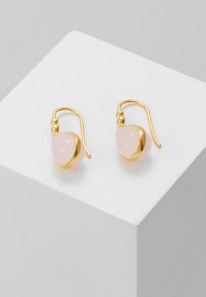 POETRY EARRINGS - Ohrringe - gold-coloured