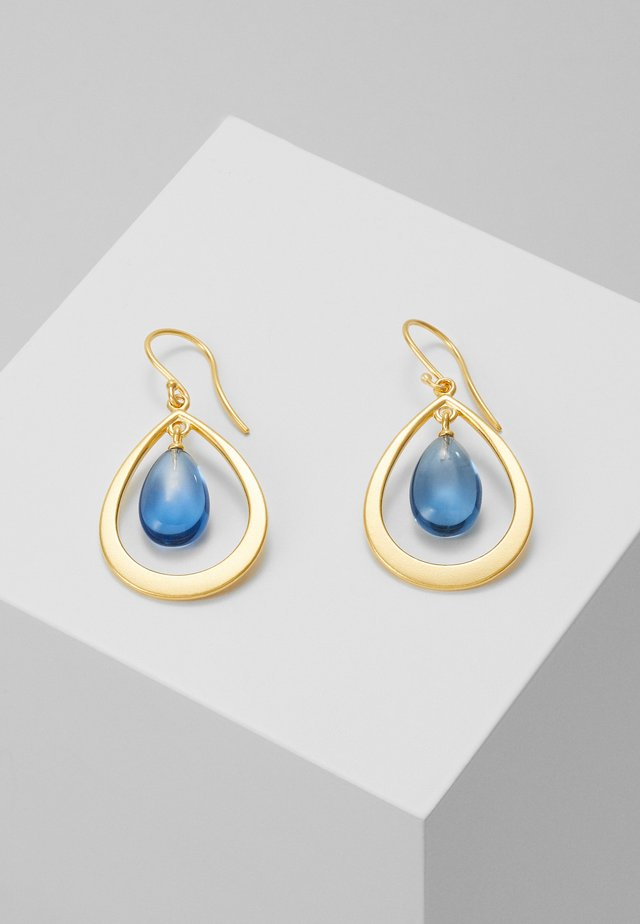 PRIME DROPLET EARRINGS - Oorbellen - gold-coloured