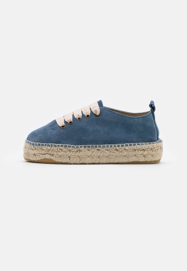 Loafers - indigo