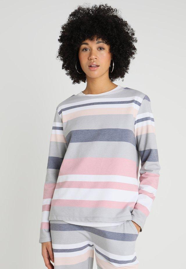 STRIPE - Sweatshirt - stone