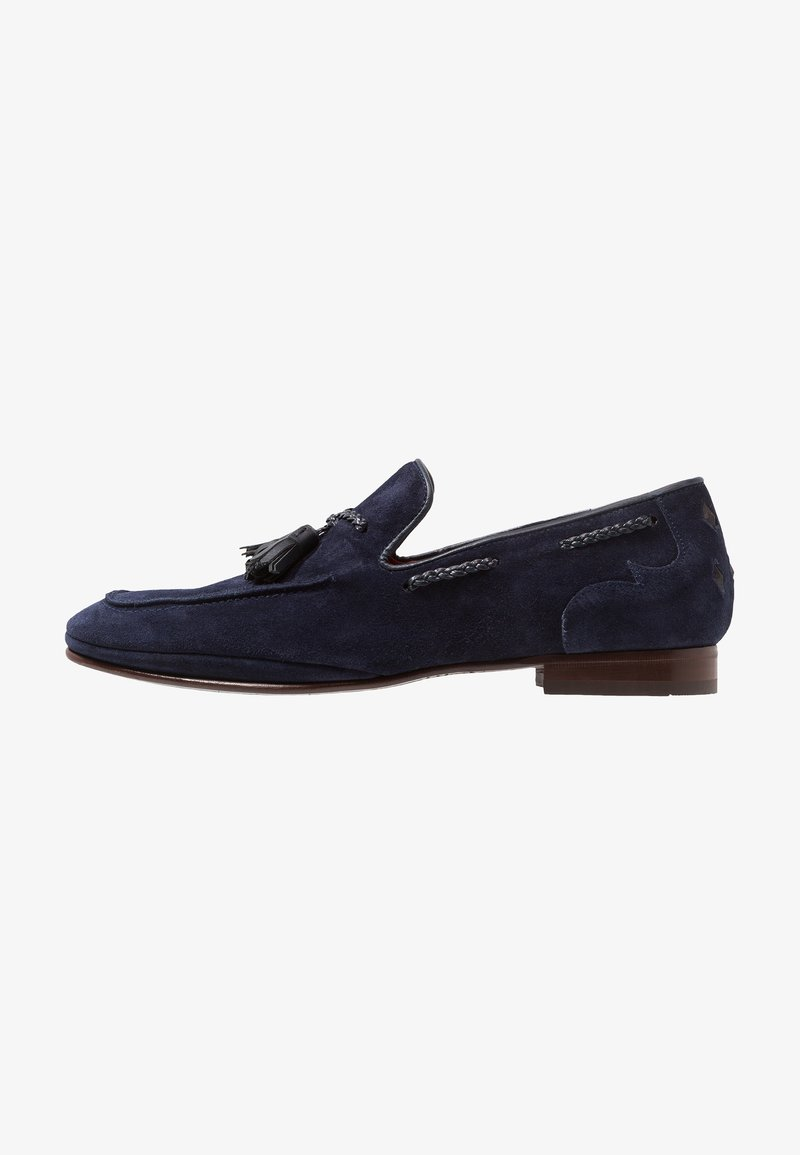 Jeffery West - MARTINI TASSEL LOAFER - Półbuty wsuwane - navy