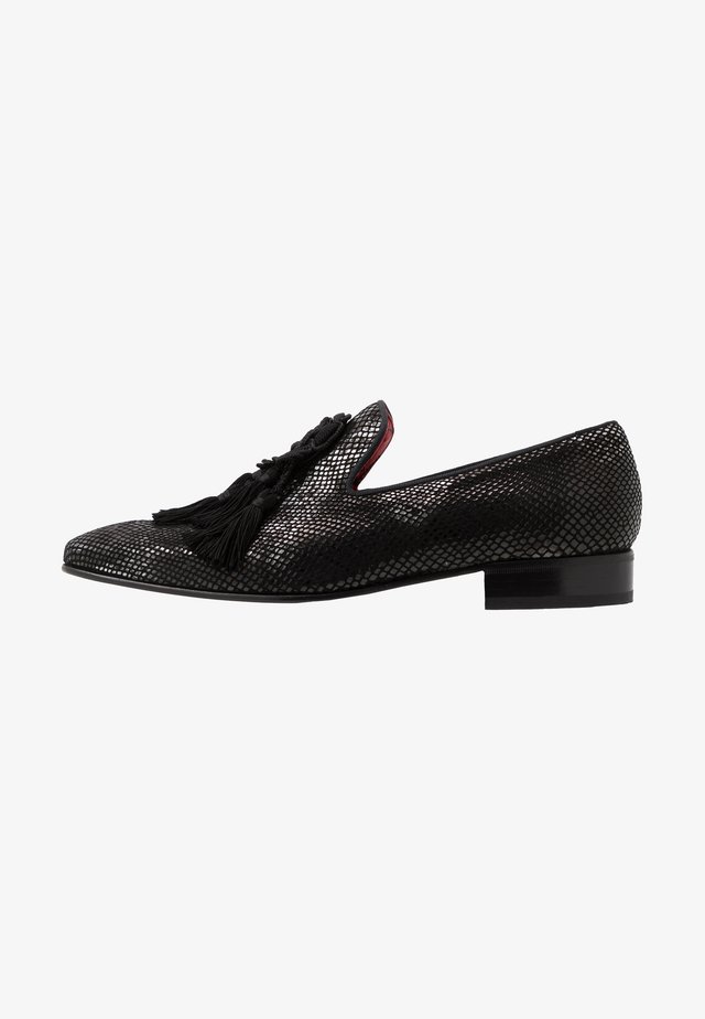 JUNG TASSEL - Slipper - creek black