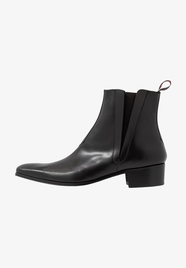 CARLITO CHELSEA - Cowboy/biker ankle boot - gaston black
