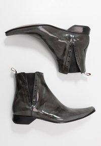 Jeffery West - PINO CENTRE SEAM CHELSEA - Cowboy/biker ankle boot - college grey - 1