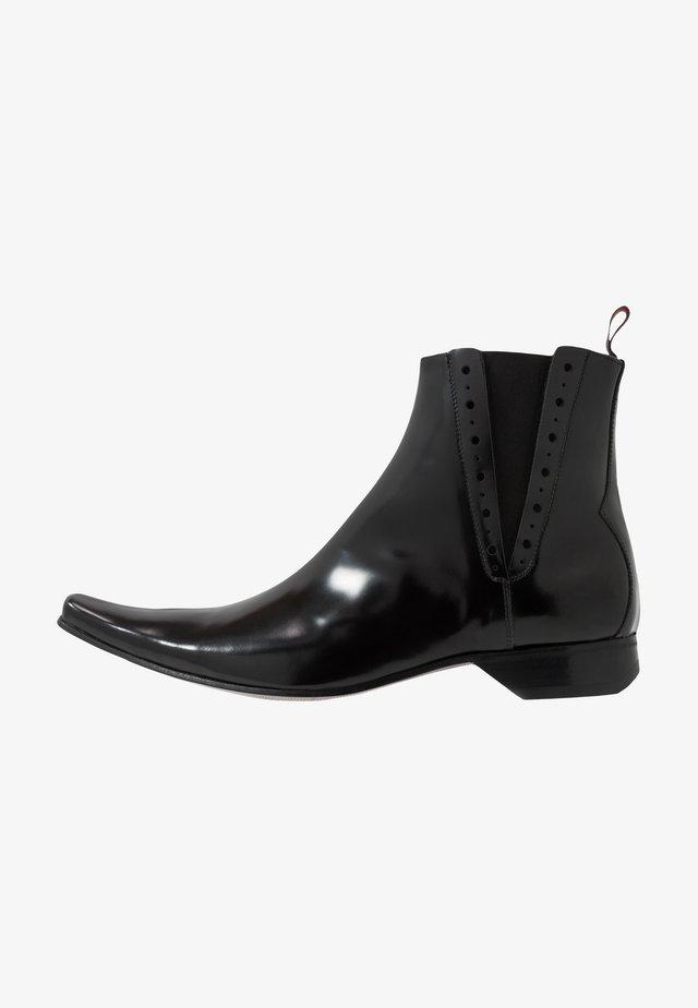 PINO CENTRE SEAM CHELSEA - Cowboy/biker ankle boot - college black