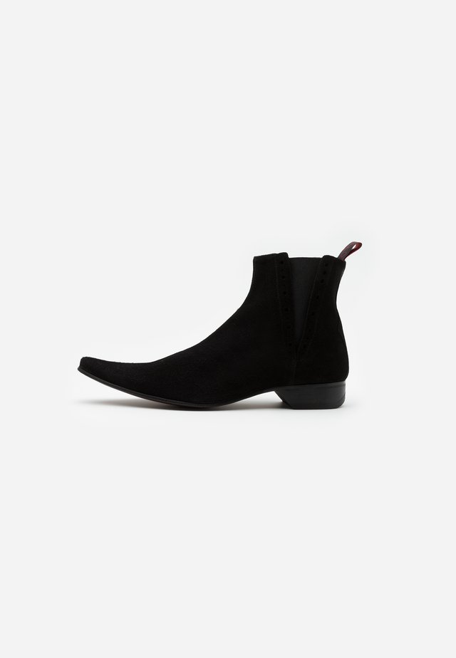 PINO CENTRE SEAM CHELSEA - Cowboy/biker ankle boot - black