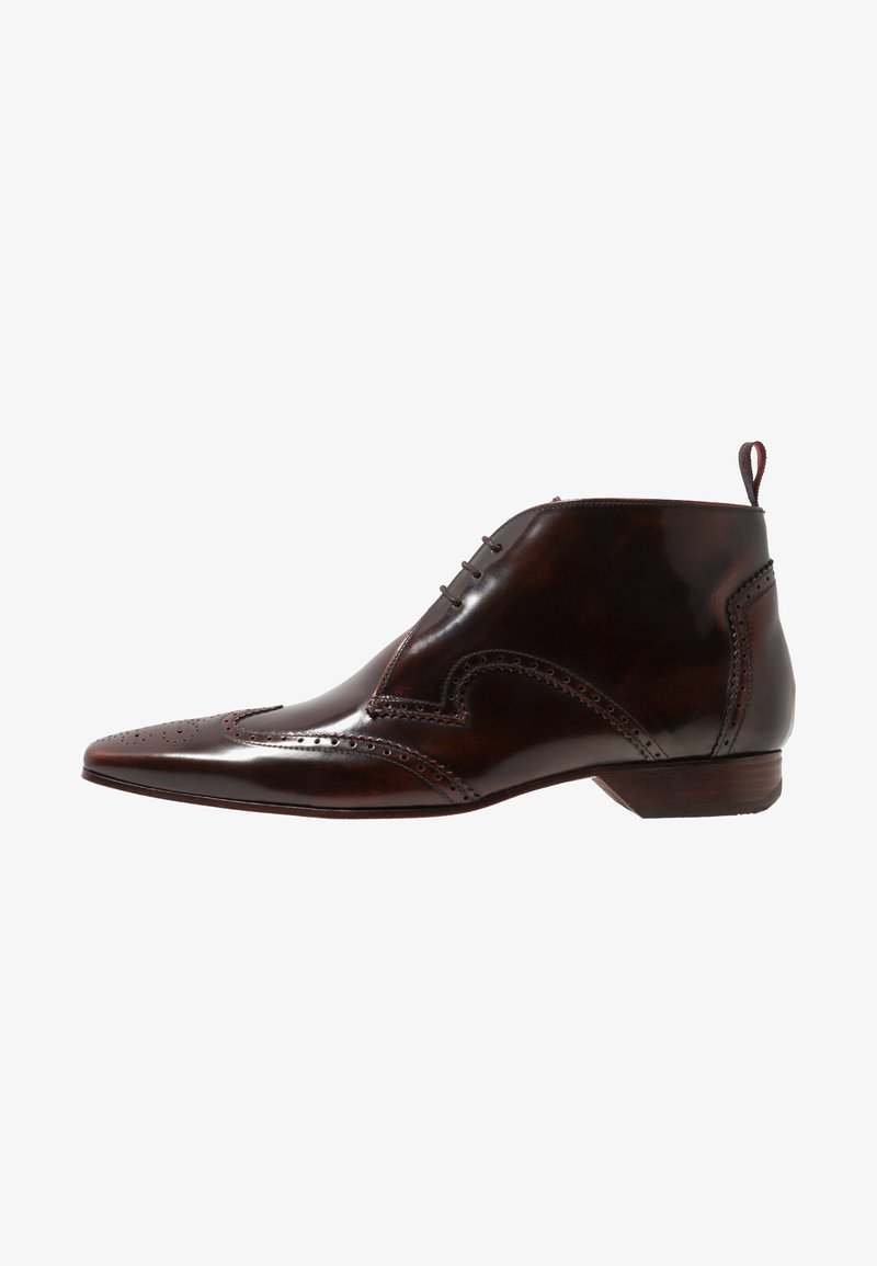 Jeffery West - ESCOBAR WINGCAP CHUKKA - Stringate eleganti - mid brown