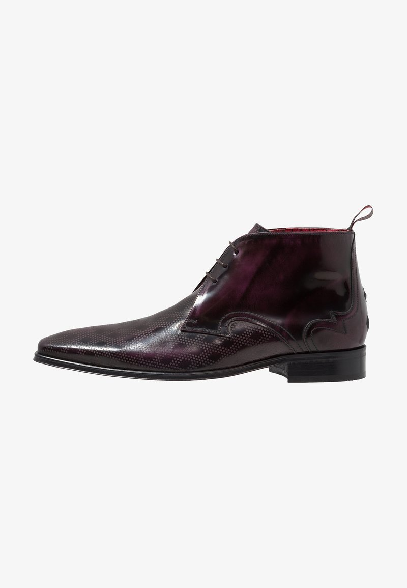 Jeffery West - SCARFACE PUNCH DIAMOND CHUKKA - Snøresko - aubergine