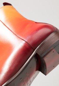 Jeffery West - CAPONE SINGLE ZIP BOOT - Classic ankle boots - toledo fire - 5