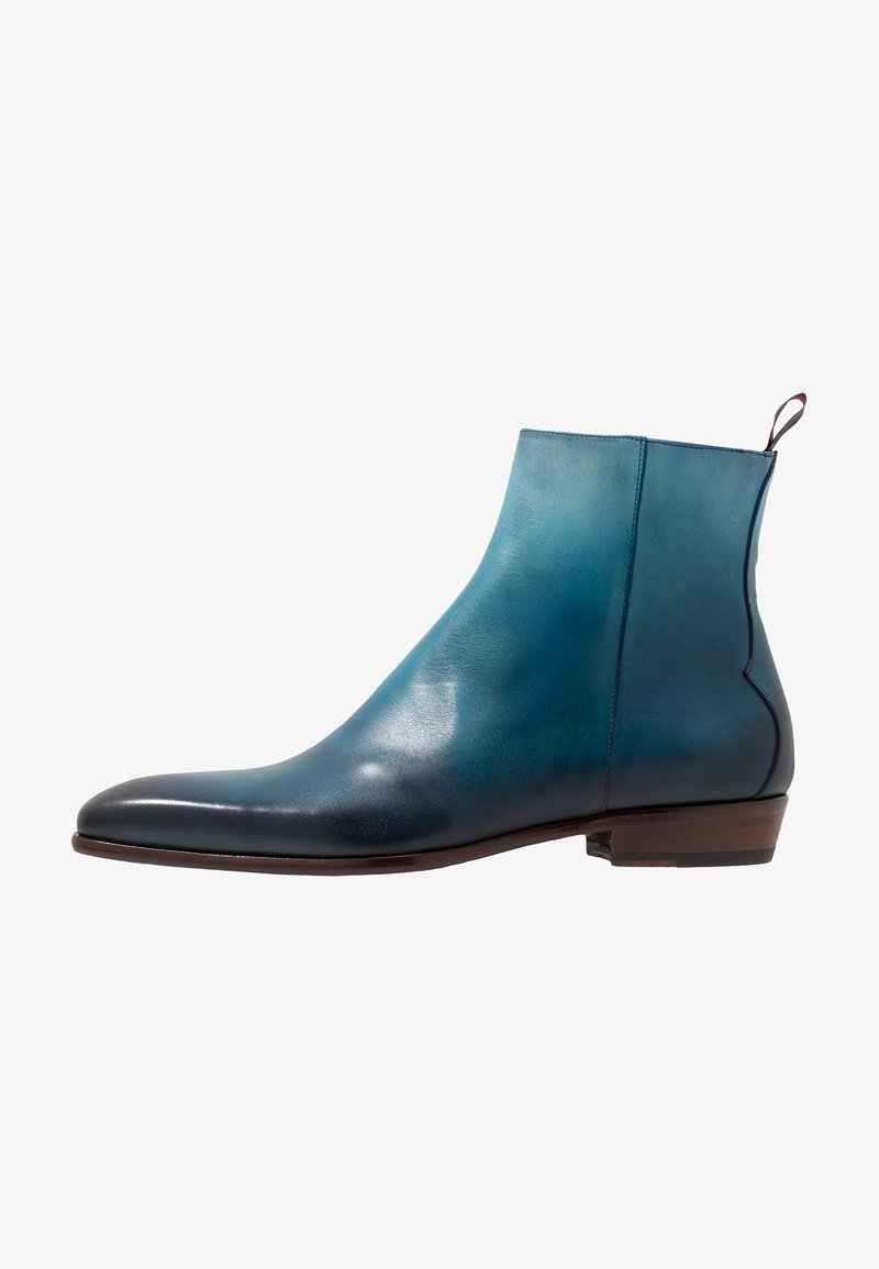 Jeffery West - CAPONE SINGLE ZIP BOOT - Classic ankle boots - toledo water