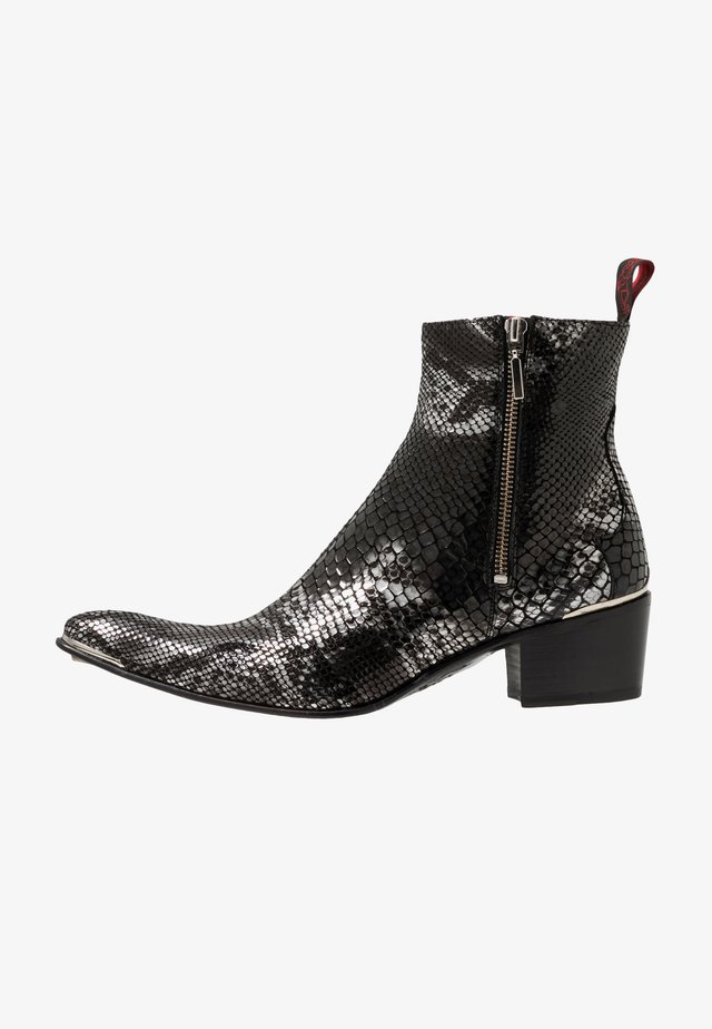 SYLVIAN DOUBLE ZIP BOOT - Biker-/cowboynilkkurit - creek black