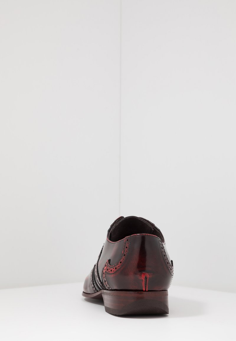 Jeffery West ESCOBAR WINGCAP - Snøresko - college red/stroke black