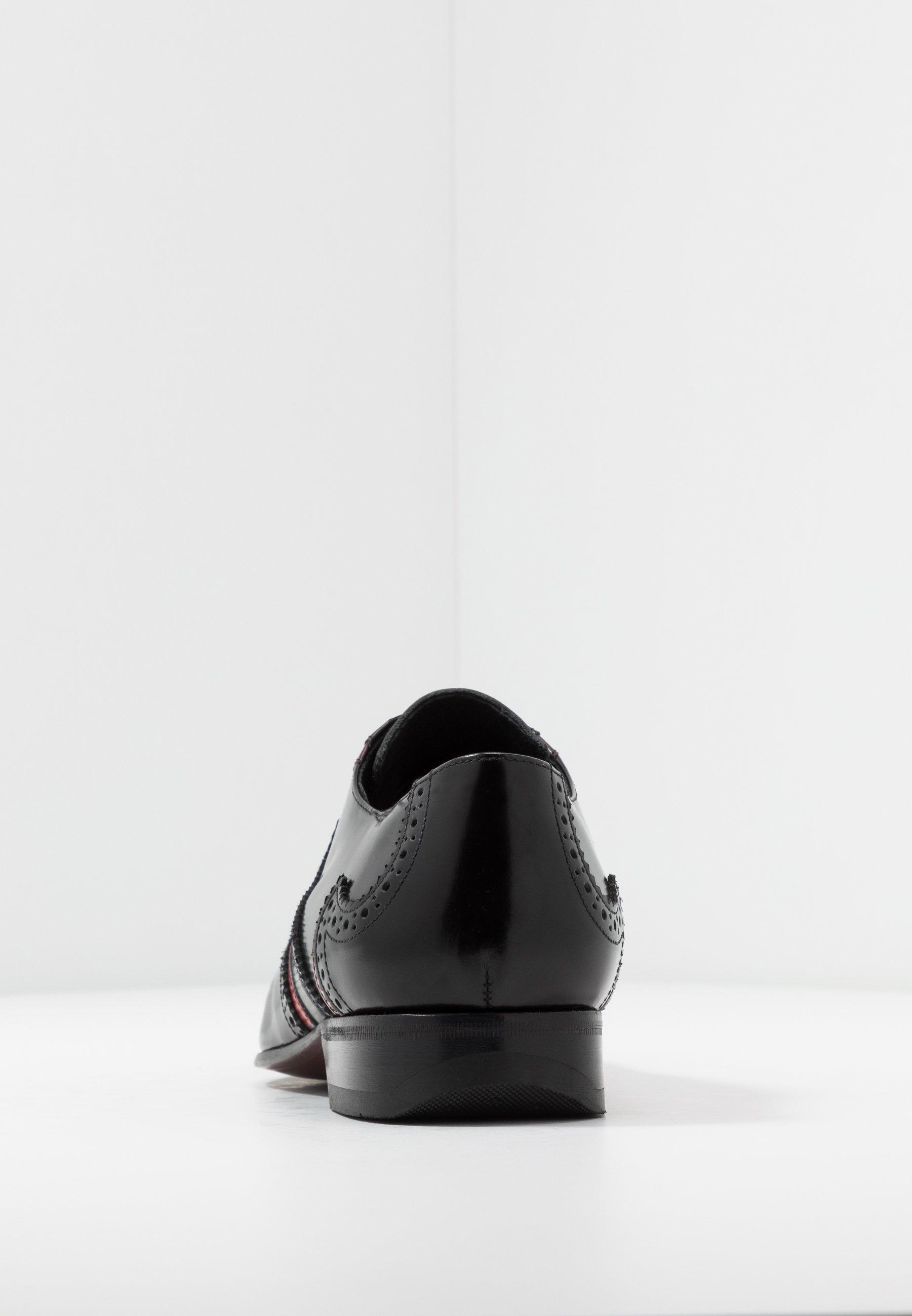 Jeffery West ESCOBAR WINGCAP - Oksfordki - college black/stroke red