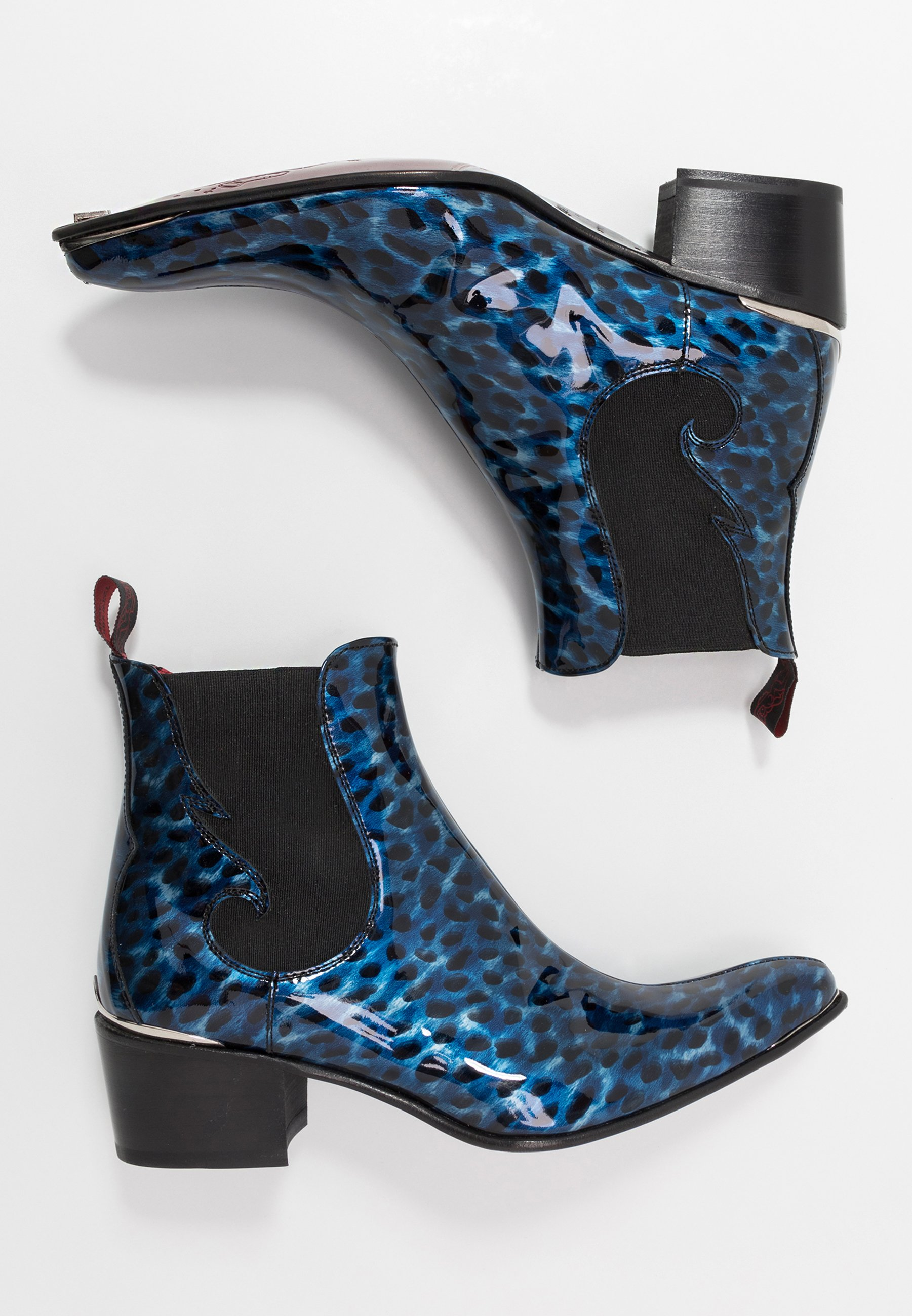 Jeffery West Sylvian New Chelsea - Støvletter Charcol/blue