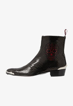 ADAMANT SKULL SIP - Classic ankle boots - veri/charol red