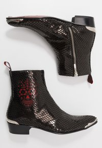 Jeffery West - ADAMANT SKULL SIP - Classic ankle boots - veri/charol red - 1