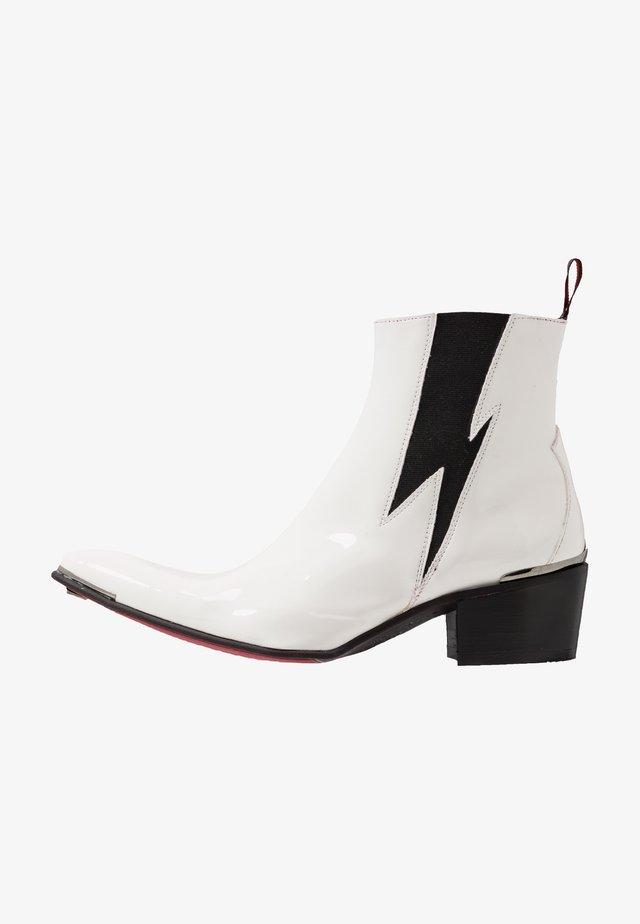 VEGAN SYLVIAN - Cowboystøvletter - white