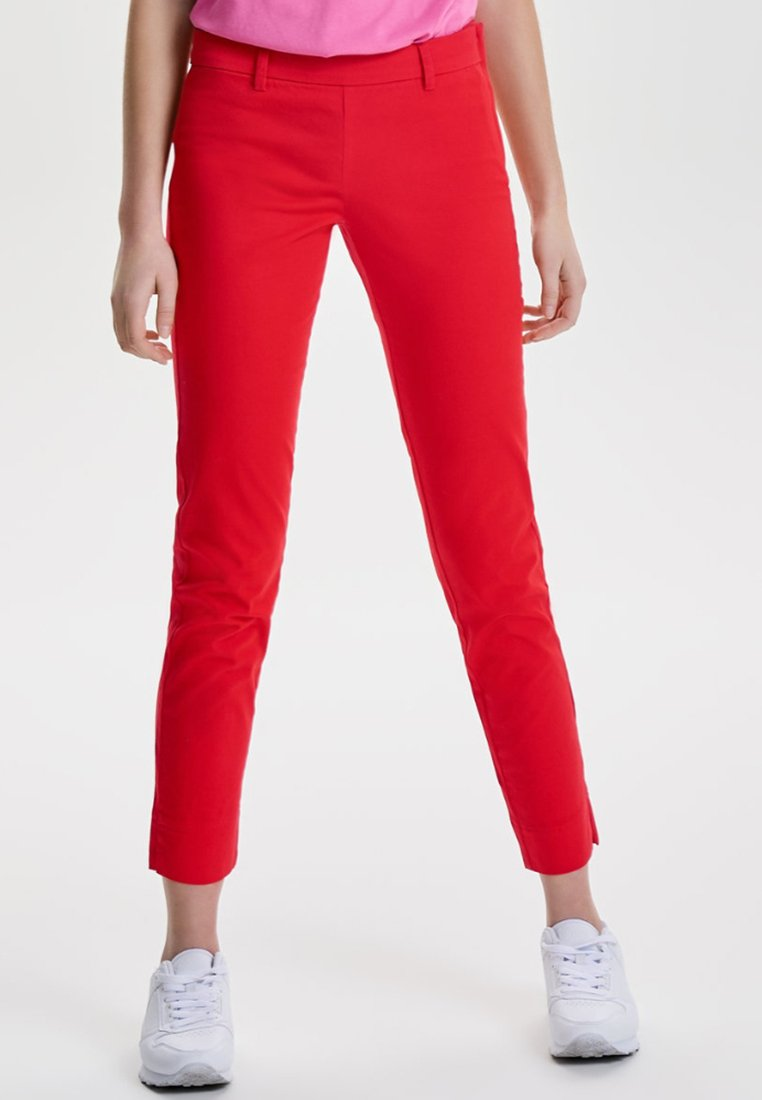 JDY JDYPOWER PANT - Stoffhose red