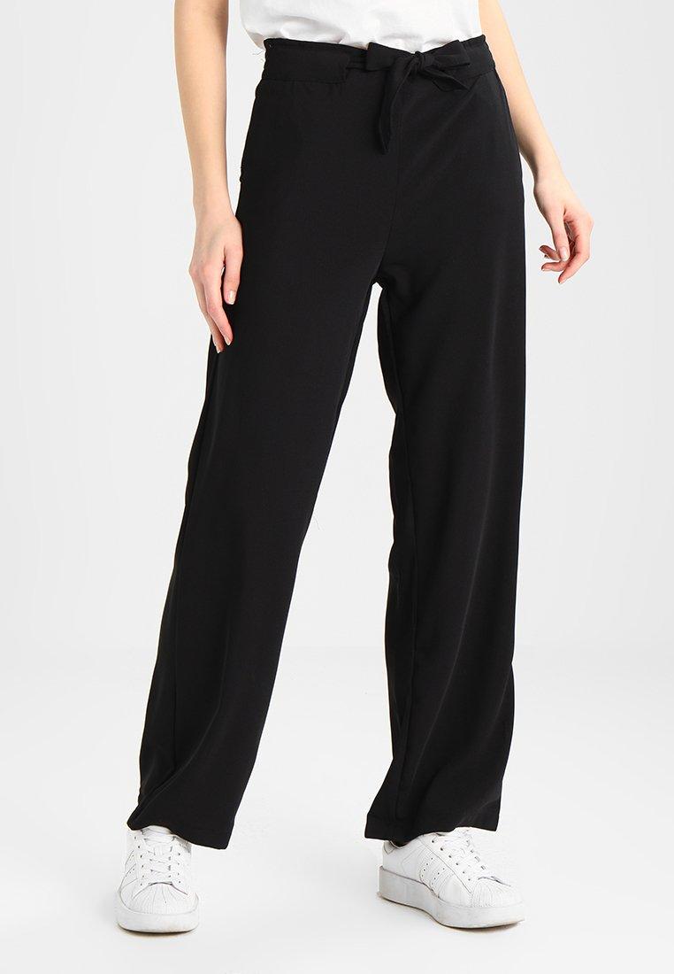 JDY - Trousers - black