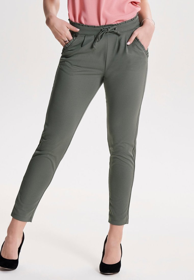 JDY - JDYCATIA  - Trousers - light gray