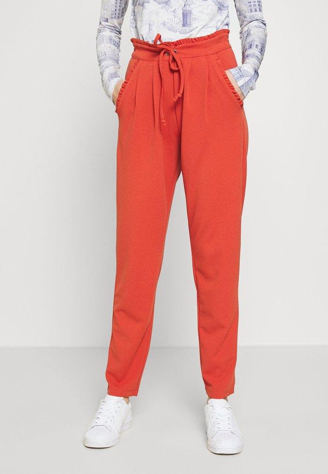 JDYCATIA PANTS - Trousers - hot sauce