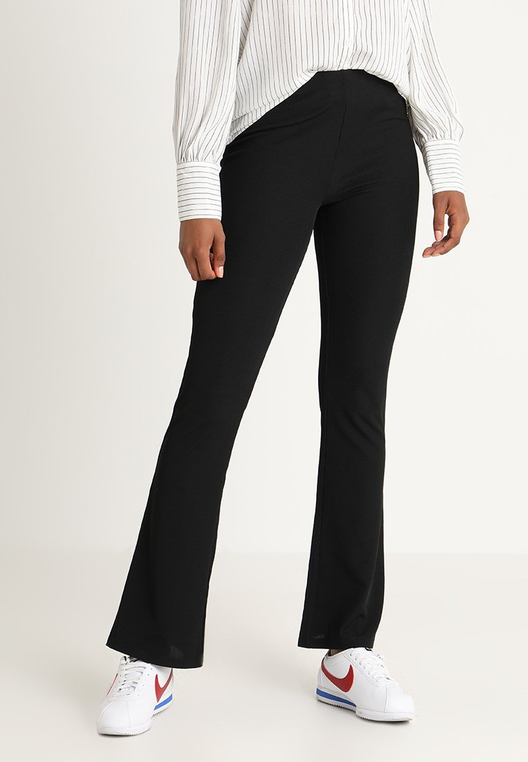 JDY JDYCIM FLARED PANT - Legginsy - black