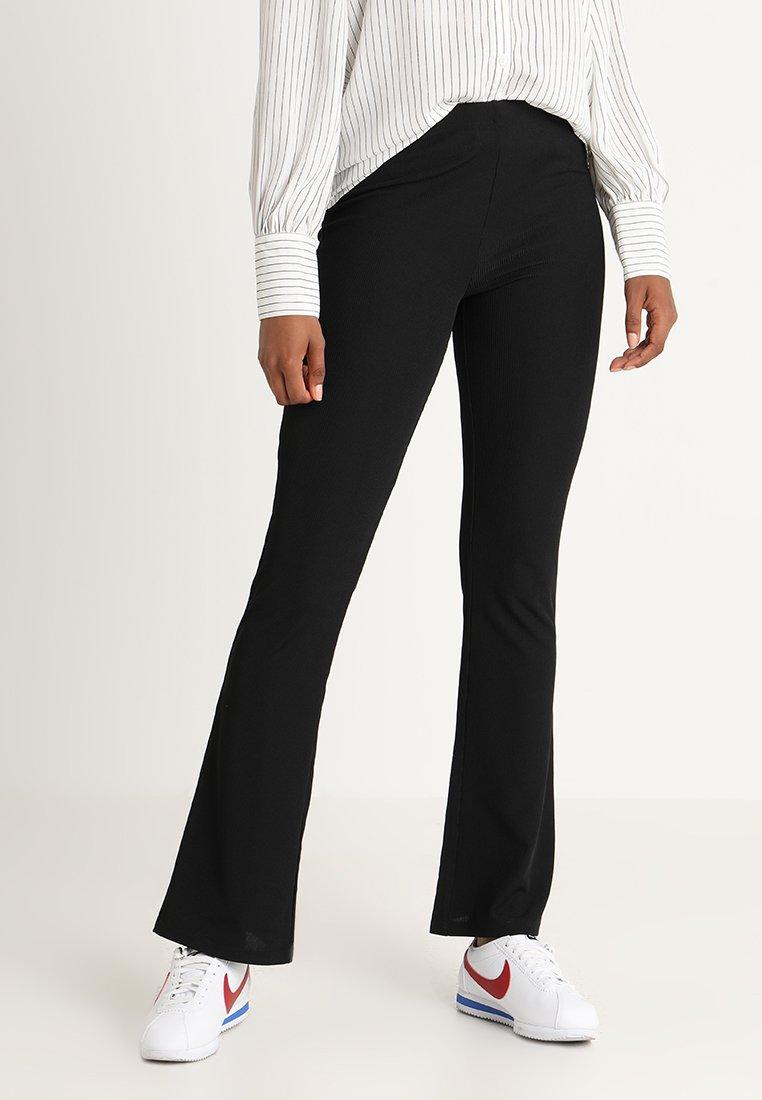 JDY - JDYCIM FLARED PANT - Leggings - black