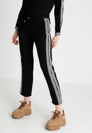 JDYIKE PANT - Pantalones - black/cloud dancer